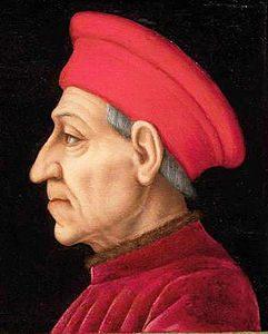 Portrait de Cosimo Il Vecchio de Medici - Agnolo Bronzino (~1565/1569), Galerie des Offices, Florence